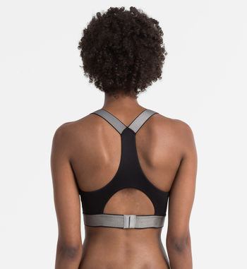 Calvin Klein customized stretch bralette zwart