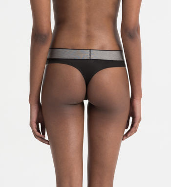 Calvin Klein Customized stretch string zwart