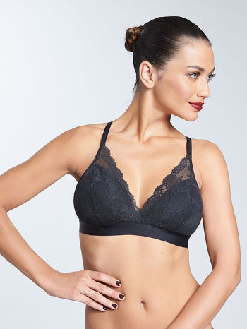 Bralette everyday lace chantelle zwart