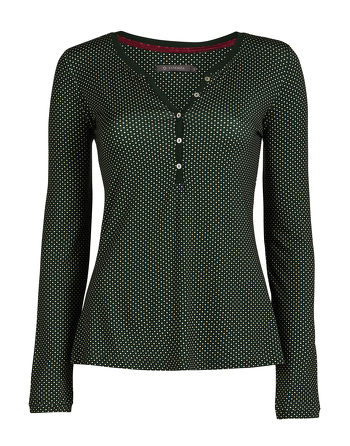Essenza Opal Circle Mini Top Green