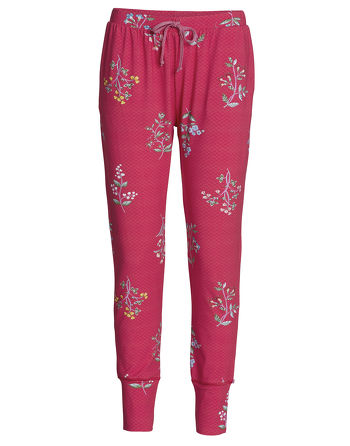 Pip Studio Bobien Winter Wonderland Pyjamabroek Cerise