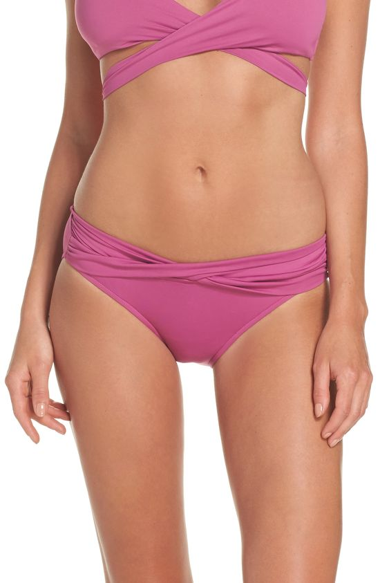 Seafolly Twist Bikinibroekje Berry